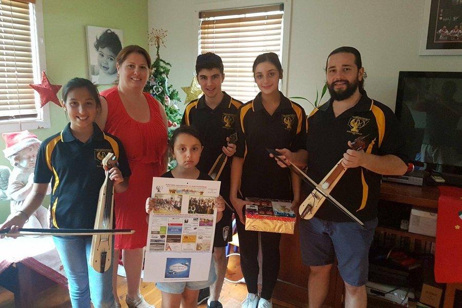 Τα ποντιακά κάλαντα ακούστηκαν στο μακρινό Σίδνεϊ της Αυστραλίας