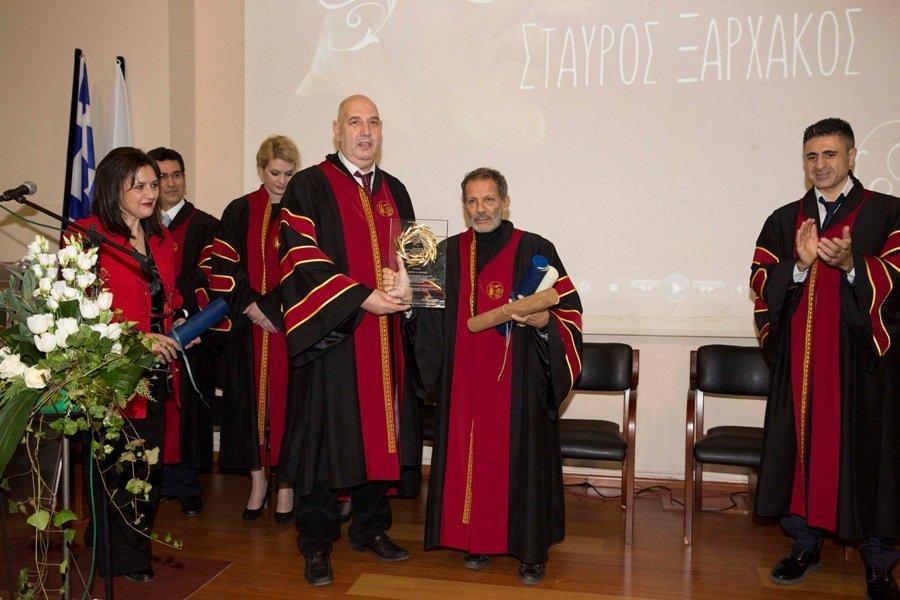 Επίτιμος διδάκτορας του ΤΕΙ Δυτικής Μακεδονίας ο συνθέτης Σταύρος Ξαρχάκος