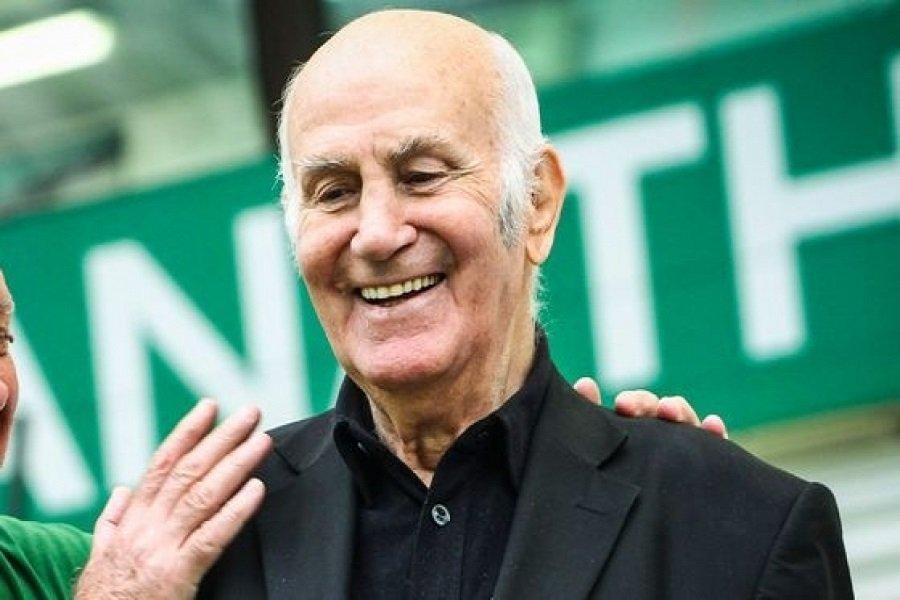 Πέθανε ο θρύλος του ελληνικού ποδοσφαίρου Τάκης Λουκανίδης