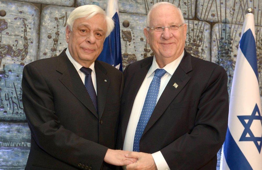 Στήριξη σε εθνικά ζητήματα ζήτησε από τον Ρίβλιν ο Παυλόπουλος