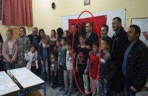 Εγκαίνια σε αλβανικό σχολείο στα Χανιά με σύμβολα της «Μεγάλης Αλβανίας»
