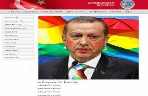 «Είμαι ο Ερντογάν και είμαι ένας περήφανος gay» – Οι Anonymus Greece χάκαραν site Τουρκικού δήμου