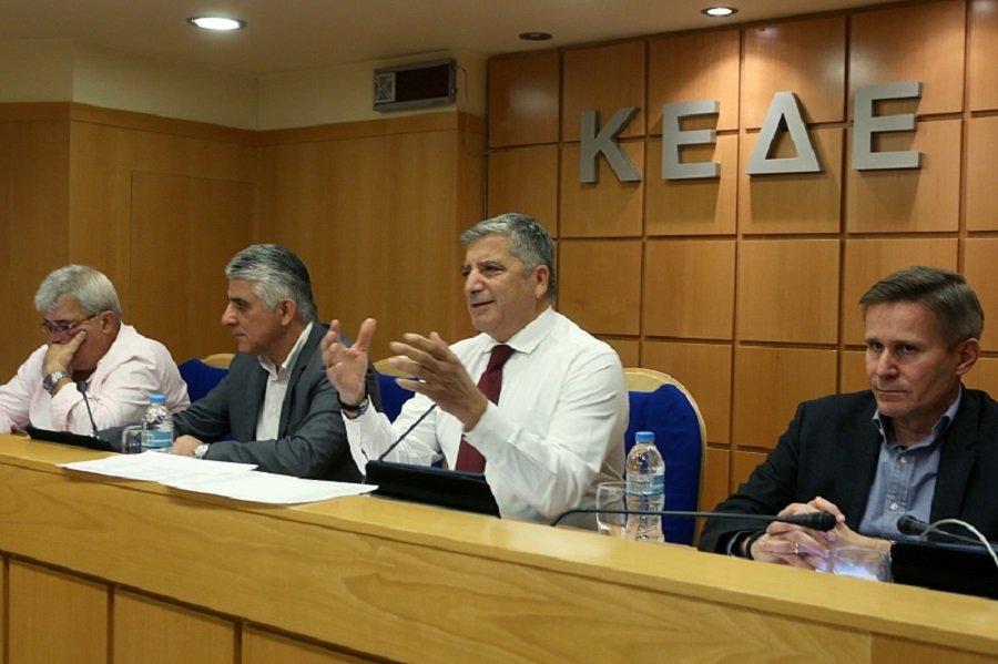 Την οικονομική στήριξη του Δήμου Μάνδρας αποφάσισε η ΚΕΔΕ