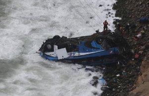 Στους 51 οι νεκροί από τη σύγκρουση λεωφορίου με φορτηγό στο Περού