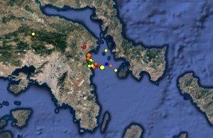 Δεκαοχτώ σεισμικές δονήσεις σημειώθηκαν από τα ξημερώματα στην Αττική