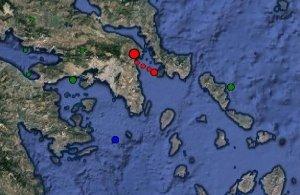 Οι πρώτες πληροφορίες για τον σεισμό που ταρακούνησε σήμερα την Αθήνα
