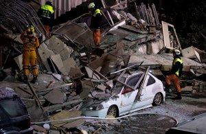 Σεισμός 6,4 βαθμών Ρίχτερ στην Ταϊβάν — Δύο νεκροί και πάνω από εκατό τραυματίες