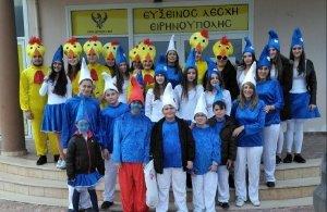 Σε αποκριάτικες εκδηλώσεις σε Αγγελοχώρι και Κρύα Βρύση συμμετείχε η Εύξεινος Λέσχη Ειρηνούπολης