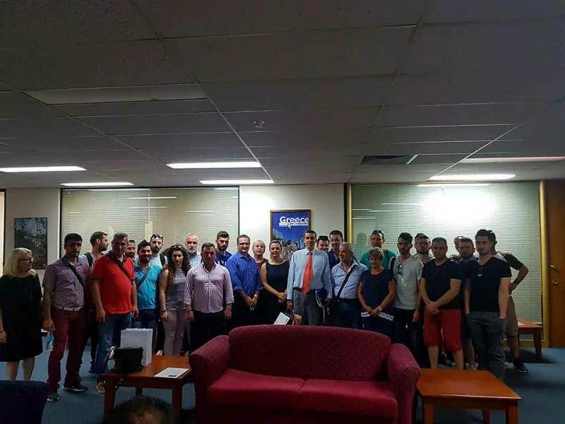 Ο Ποντιακός Μορφωτικός Σύλλογος Αγίου Δημητρίου-Ρυακίου έφτασε στην Αυστραλία