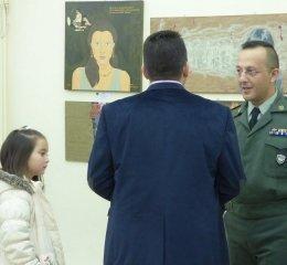 Έργα τέχνης για Γενοκτονία των Ποντίων παρουσιάστηκαν στην καλλιτεχνική έκθεση της 12ης Μηχανοκίνητης Μεραρχίας Πεζικού στην Αλεξανδρούπολη