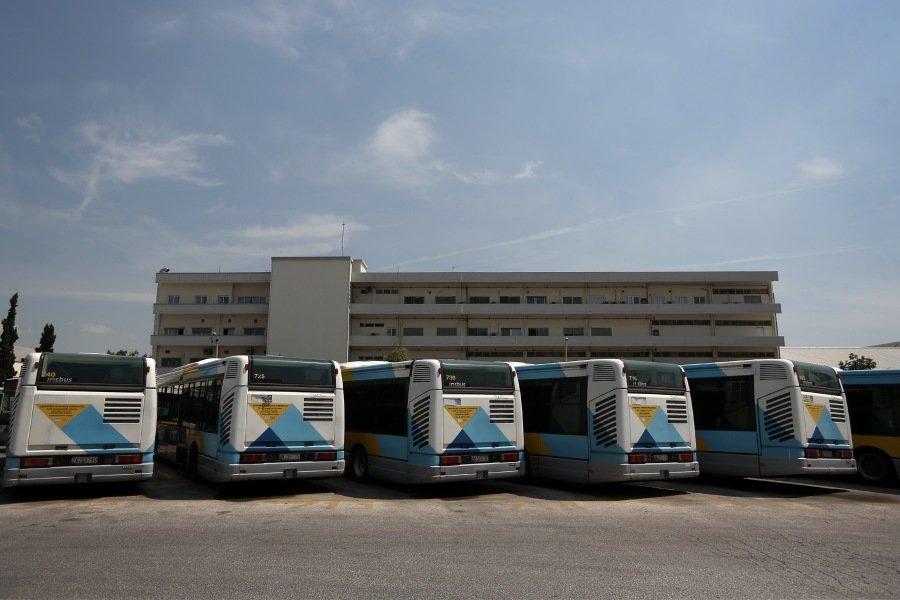 Στάση εργασίας σήμερα στα μπλε λεωφορεία του ΟΑΣΑ
