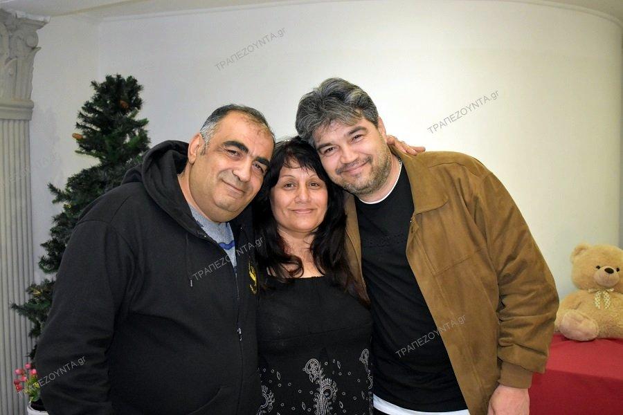 Το ΤΡΑΠΕΖΟΥΝΤΑ.gr με τα αδέλφια Πορονίδη που αντάμωσαν για πρώτη φορά ύστερα από 46 χρόνια (φωτο, βίντεο)