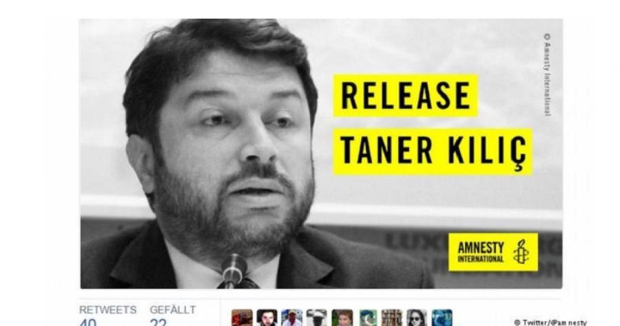 Αποφυλακίστηκε ο επικεφαλής της Διεθνούς Αμνηστίας στην Τουρκία