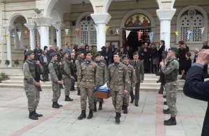 Κηδεύτηκε ο ήρωας του 211 ΤΠ Ιωάννης Σκαλιστής στη Λευκωσία