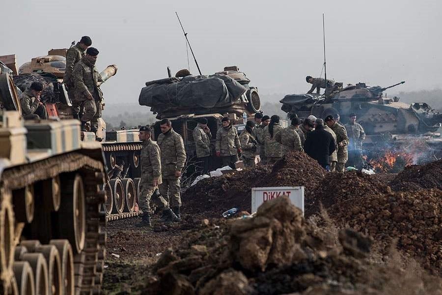 Άρχισε η πολιορκία του Αφρίν από τον τουρκικό στρατό