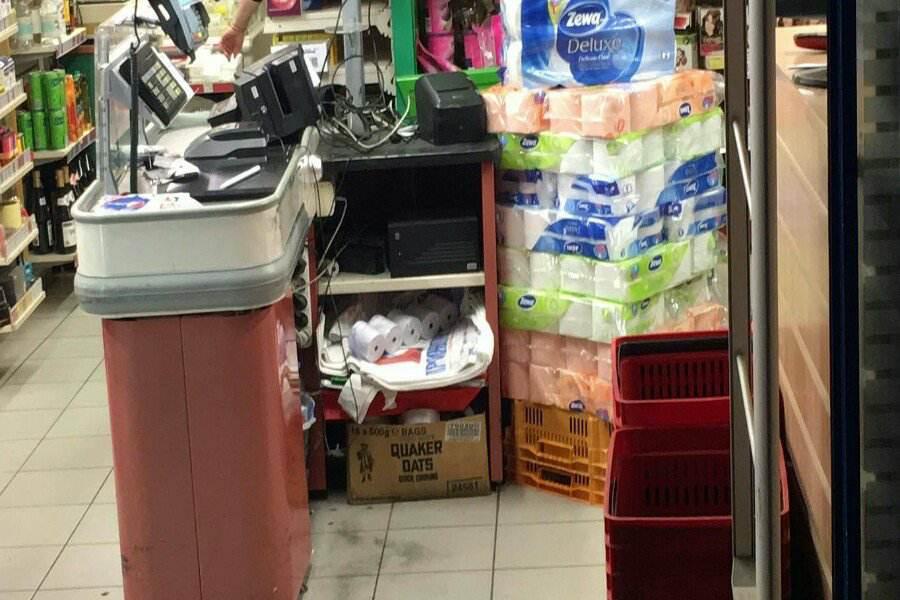 Ένοπλη ληστεία σε σούπερ μάρκετ στη Νέα Φιλαδέλφεια
