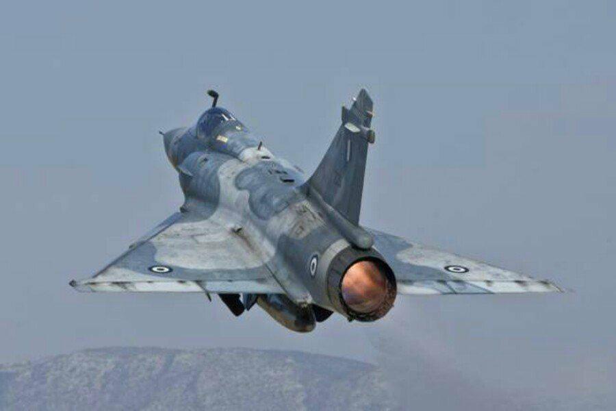 Πτώση Mirage 2000-5: Έτσι έπεσε το αεροσκάφος — Πώς γλίτωσε το δεύτερο την τελευταία στιγμή