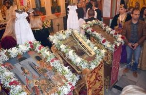 Σήμερα ο πρώτος συνεορτασμός των εικόνων Αγίου Ιωάννη Βαζελώνα, Αγίου Γεωργίου Περιστερεώτα και Παναγίας Σουμελά στον Άγιο Δημήτριο Ελλησπόντου Κοζάνης