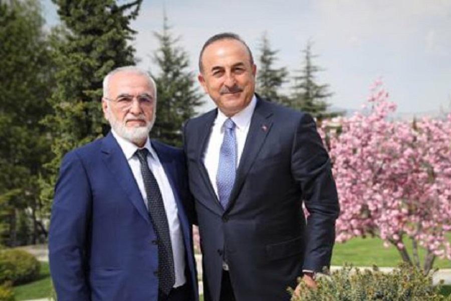 Ιβάν Σαββίδης-Μεβλούτ Τσαβούσογλου: Στο επίκεντρο των συζητήσεων η Παναγία Σουμελά Τραπεζούντας