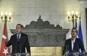 Συλλυπητήρια Ερντογάν σε Τσίπρα για τον σμηναγό Γιώργο Μπαλταδώρο
