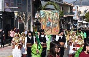 Πόντιοι και Αρβανίτες τίμησαν την Κυριακή των Βαΐων στις Αχαρνές (φωτο, βίντεο)