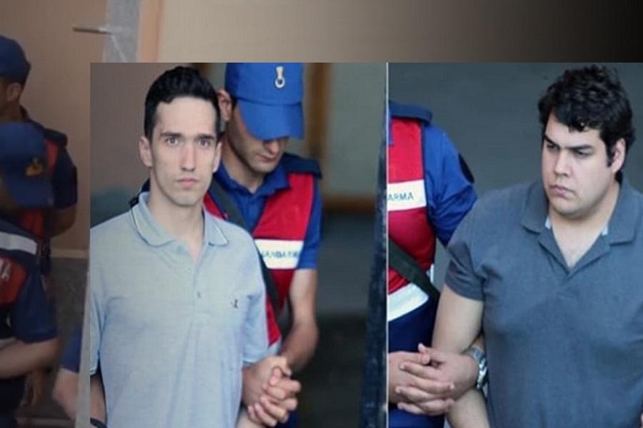 EKTAKTO: Ελεύθεροι μέχρι τη δίκη οι Έλληνες στρατιωτικοί