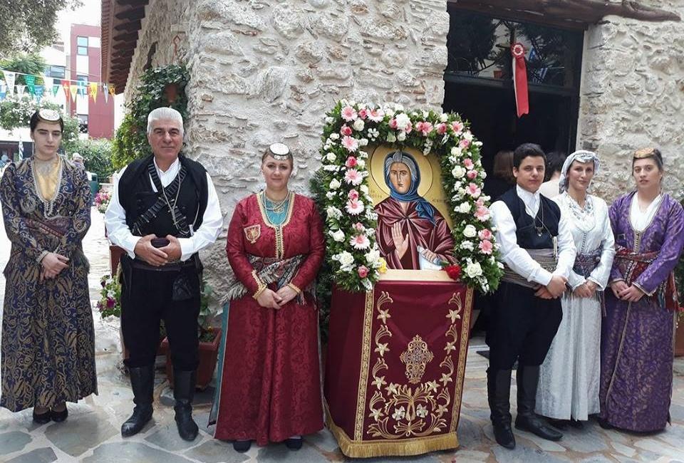 Ο «Εύξεινος Πόντος» μεταμόρφωσης τίμησε τη μνήμη της Οσίας Σοφίας της Ποντίας (φωτο)
