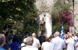 Οι Κωνσταντινουπολίτες τίμησαν την μνήμη του Κωνσταντίνου Παλαιολόγου (φωτο)