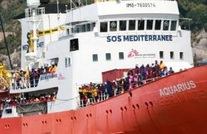 Ιταλία: Κλείνει τα λιμάνια — Δεν θα δεχθεί το πλοίο «Aquarius» με 629 μετανάστες