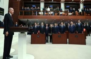 Εγένετο… σουλτάνος ο Ερντογάν: Ορκίστηκε πρόεδρος και άλλαξε το πολίτευμα της Τουρκίας