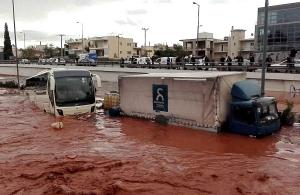 Συναγερμός στην Αττική: Κίνδυνος για καταστροφικές πλημμύρες σε εννέα περιοχές