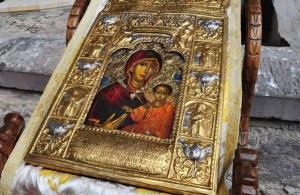 Θεσσαλονίκη: Η εικόνα της Παναγίας Σουμελά στις εορταστικές εκδηλώσεις για τον Άγιο Δημήτριο