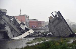Τραγωδία στη Γένοβα: Δεκάδες νεκροί από κατάρρευση γέφυρας