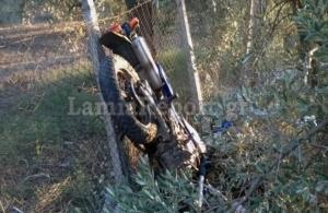 Λαμία: Νεκρός 48χρονος σε τροχαίο με μηχανή — Σοβαρά τραυματισμένος ο 39χρονος οδηγός