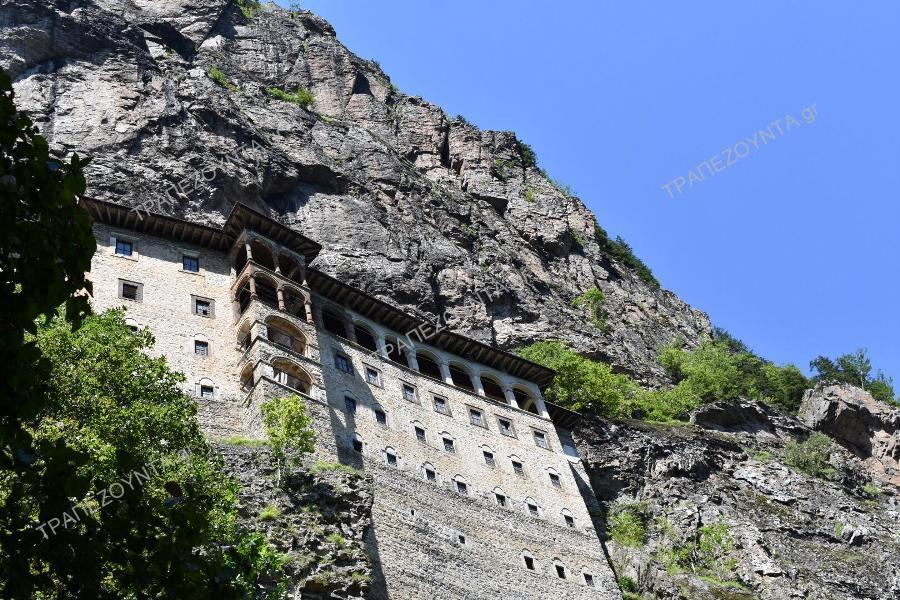 Παναγία Σουμελά: Ανοίγει ξανά το μοναστήρι στην Τραπεζούντα μετά τις εκτεταμένες εργασίες