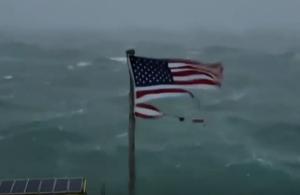 Ο καταστροφικός κυκλώνας Φλόρενς έφθασε στις ΗΠΑ