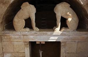 Ξενάγηση στα άδυτα του ταφικού μνημείου του Λόφου Καστά για εκατοντάδες θεατές