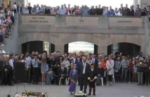 Η Ομοσπονδία Ποντιακών Σωματείων Αυστραλίας απέδωσε φόρο τιμής στους Άνζακ
