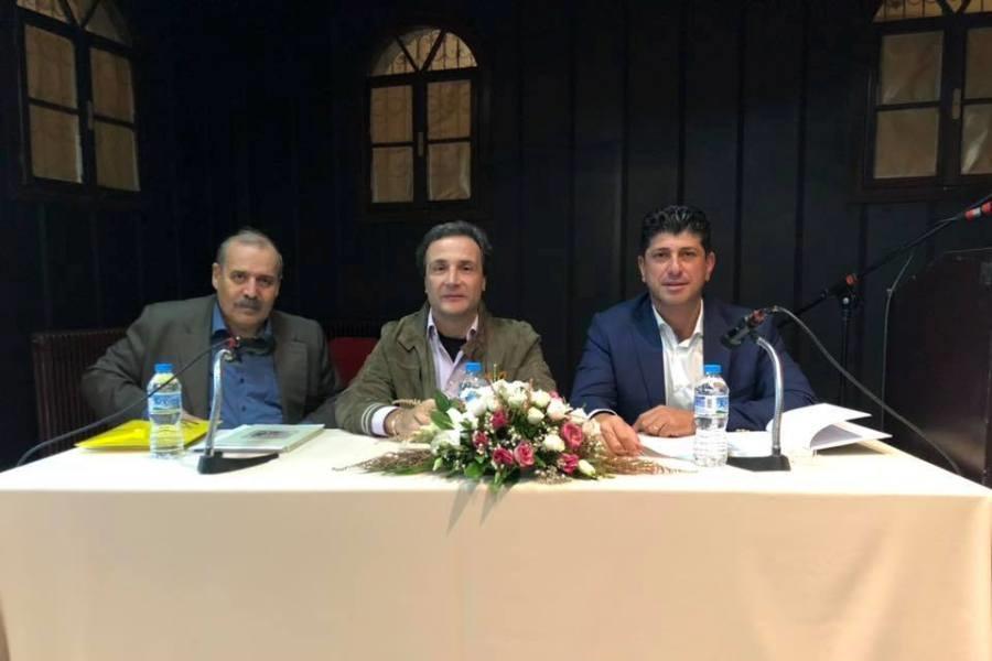 Συγκίνησε ο Νίκος Γεωργιάδης στην Κομοτηνή όπου παρουσιάστηκε το βιβλίο του «Η γλώσσα του Αισώπου – Μύθοι 'ς σην ποντιακήν διάλεκτον»