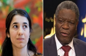Νόμπελ Ειρήνης: Ο γυναικολόγος και η «σκλάβα του σεξ» του Ισλαμικού Κράτους μοιράστηκαν το βραβείο