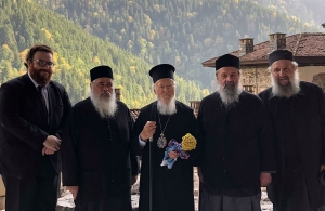 Στην Παναγία Σουμελά στην Τραπεζούντα πήγε ο Πατριάρχης Βαρθολομαίος — Θα επισκεφθεί και το δυτικό Πόντο — Το μουχαπέτ' που έγινε με τις ευλογίες του (βίντεο)
