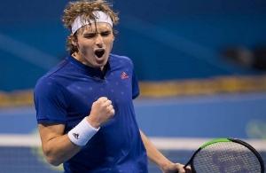 Τον πρώτο του διεθνή τίτλο στο τένις πανηγυρίζει ο Στέφανος Τσιτσιπάς