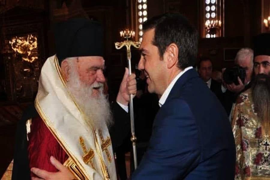 Ιερώνυμος για συνάντηση με Τσίπρα: «Αγαπάμε τον πρωθυπουργό μας και τους πολιτικούς μας»