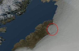 Ανακαλύφθηκε κάτω από τους πάγους της Γροιλανδίας τεράστιος κρατήρας διαμέτρου 31 χιλιομέτρων — Προκλήθηκε από πτώση μετεωρίτη πριν από περίπου 12.000 χρόνια