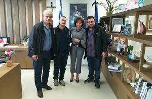 Την αντιπεριφερειάρχη Θεσσαλονίκης, Βούλα Πατουλίδου, επισκέφθηκε αντιπροσωπεία της Παμποντιακής Ομοσπονδίας Ελλάδος