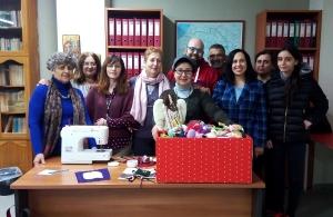 «Αργοναύτες» Κιλκίς: Προσέφεραν χριστουγεννιάτικα στολίδια, από ποντιακή φορεσιά, στο Κέντρο Κοινωνικής Στήριξης Κιλκίς για ΑμΕΑ