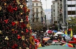 Χριστούγεννα 2018-Πρωτοχρονιά 2019: Αρχίζει σήμερα το εορταστικό ωράριο των καταστημάτων