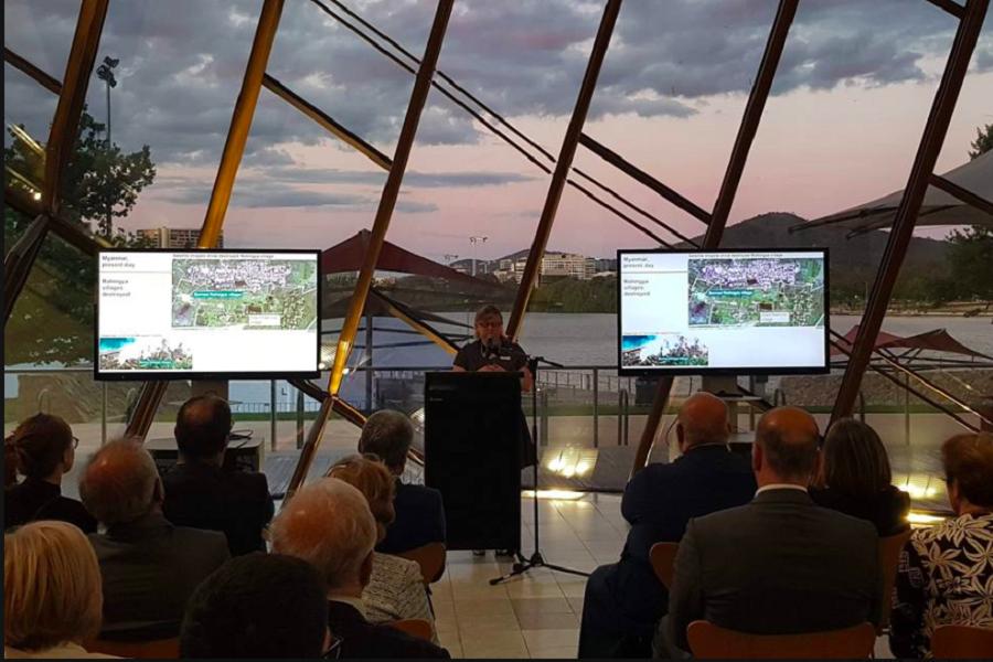 Ιστορική εκδήλωση πραγματοποιήθηκε στην Καμπέρα της Αυστραλίας για τα 70 χρόνια από την υιοθέτηση της σύμβασης για την γενοκτονία στον ΟΗΕ