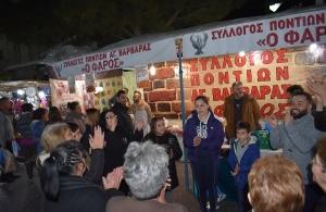 Γιόρτασε την πολιούχο της πόλης του ο «Φάρος» Αγίας Βαρβάρας — Χιλιάδες κόσμου στο περίπτερο του συλλόγου (φωτο)
