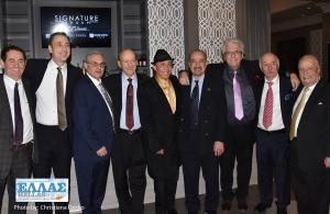 Ο Γιάννης Φλωρινιώτης επισκέφθηκε το Ελληνοκαναδικό Κογκρέσο για να το ευχαριστήσει για την προώθηση του ζητήματος της Γενοκτονίας των Ποντίων